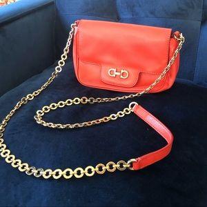 Salvatore Ferragamo Coral chain Shoulder bag